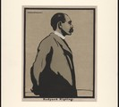 Rudyard Kipling, drawing by Sir William Nicholson, 1899.