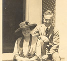 Ada Hitchcock MacLeish and Archibald MacLeish on their honeymoon in 1916.