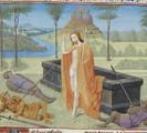 Image of Resurrected Jesus at Empty Tomb