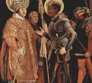 Image of St. Maurice, an African saint portrayed in sixteenth-century European armor as a knight.