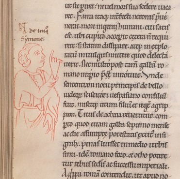 Image of nota bene from Beinecke MS 280
