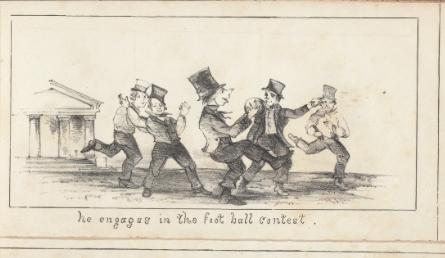 Image from Ichabod Academics of Football game