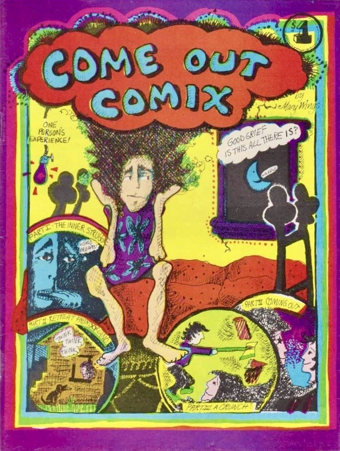 Come Out Comix by Mary Wings, 1977