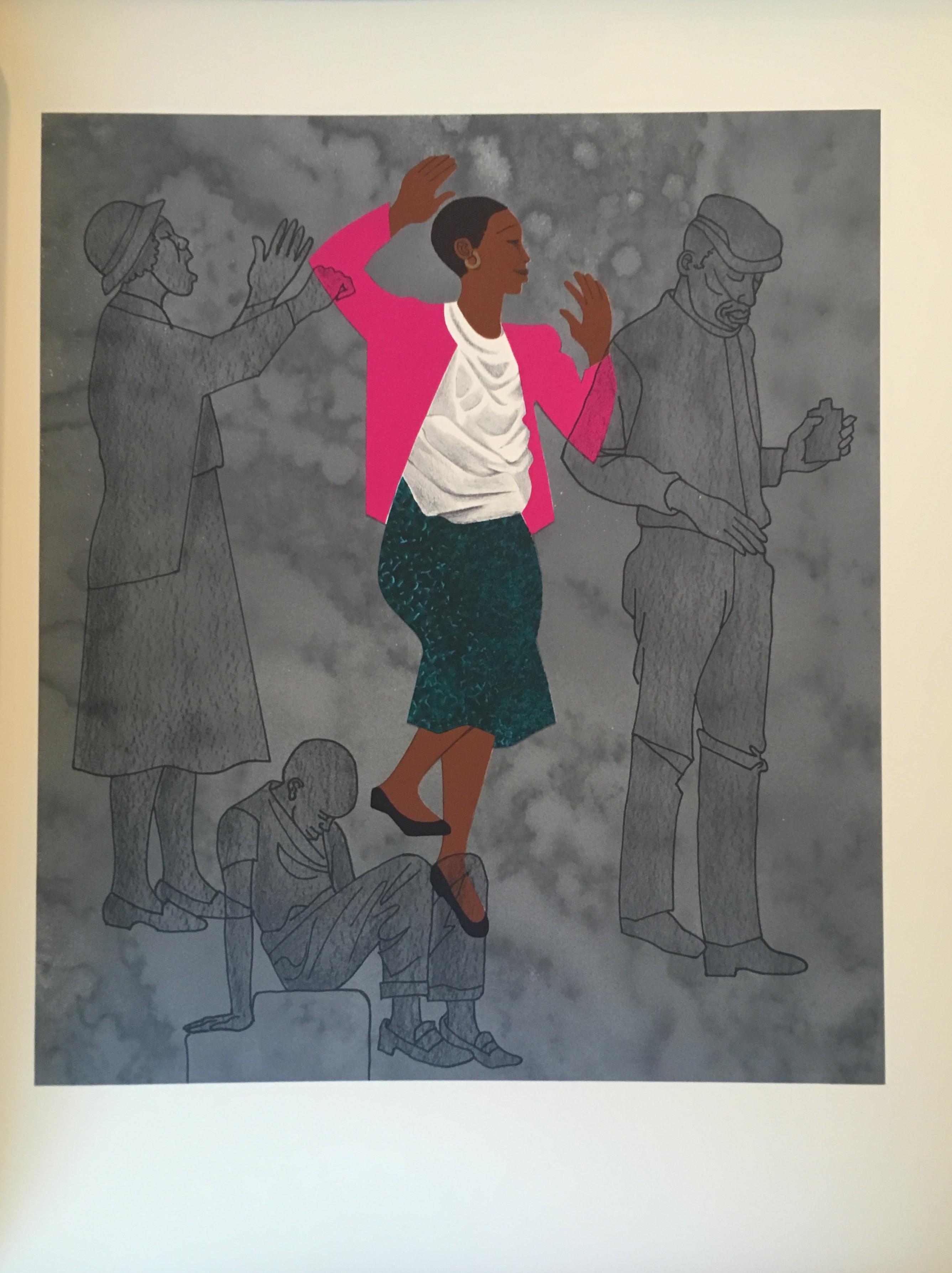 Lithograph by Elizabeth Catlett