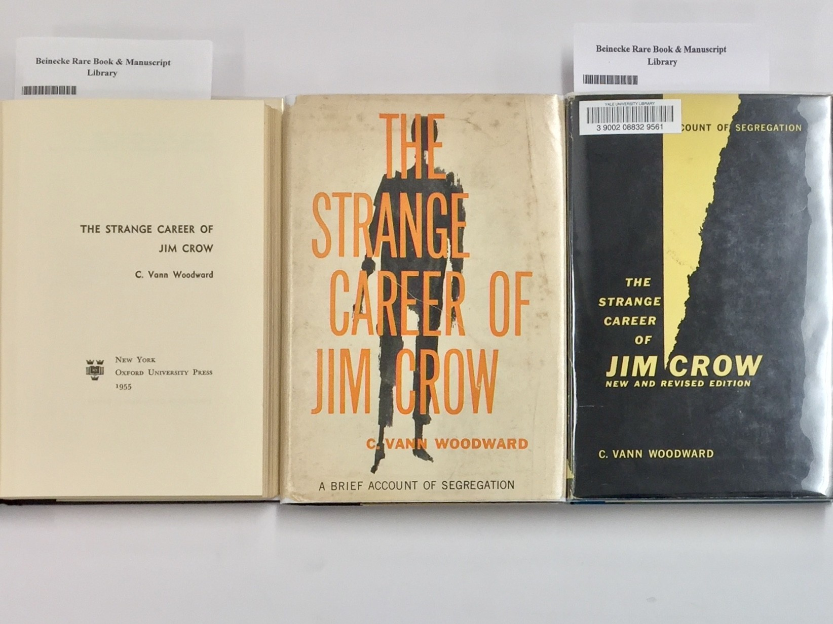 King Woodward And The Strange Career Of Jim Crow Beinecke Rare Book Manuscript Library